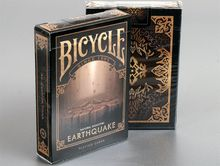 """Bicycle Natural Disasters """"""""Earthquake"""""""" Playing Cards by Collectable Playing Cards"""