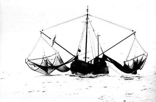 Aart Klein | Garnalen vissen, Termunterzijl (1960)