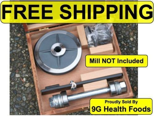 Country Living Grain Mill - Complete Case -