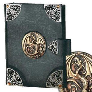 Alchemy Leather Bound Dragon Book