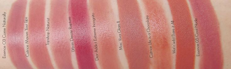 Defining Nude with Essence Lipsticks: Swatches, Dupes, Comparison