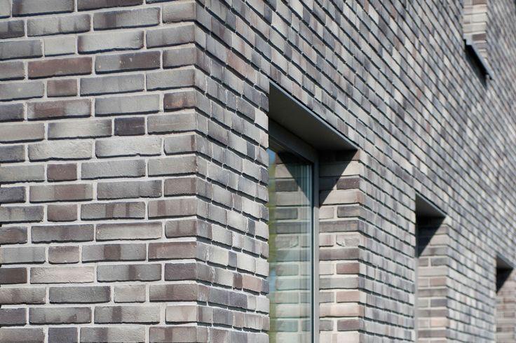 Grey brick corner detail   Nieuwkoop Zuidhoek