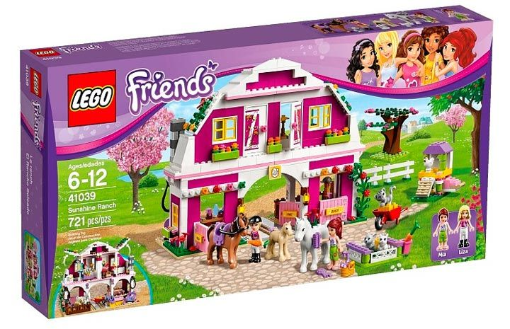 lego friends stable instructions