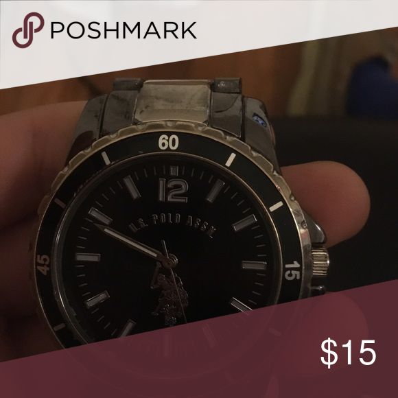 Polo watch Polo watch 15$ text me 502-552-1818 REAL SILVER U.S. Polo Assn. Accessories Watches