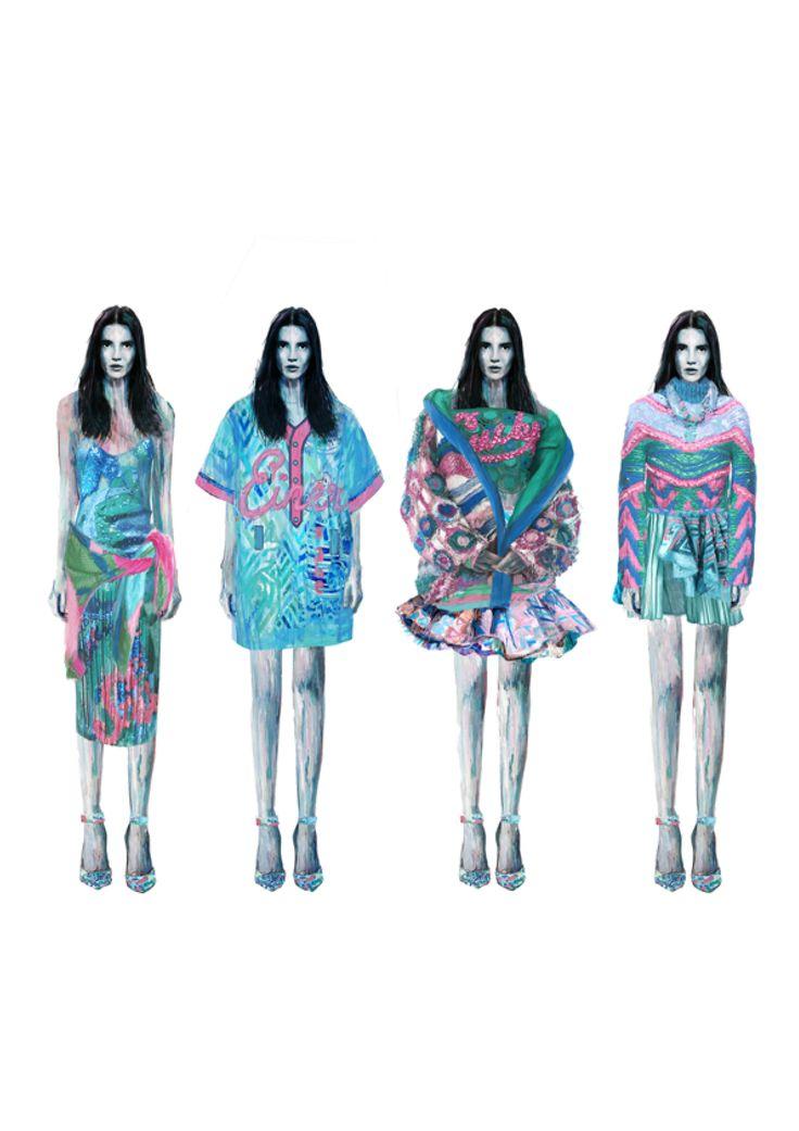 2015 Westminster Fashion illustration – Roberta Einer