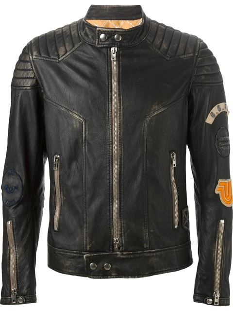Compre Sword Jaqueta biker de couro em FFBR from the world's best independent boutiques at farfetch.com. Shop 300 boutiques at one address.