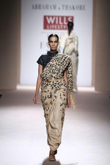 Abraham & Thakore at Wills Lifestyle India Fashion Week A/W 2014