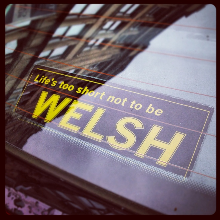 I'm too short to be anything other than Welsh.