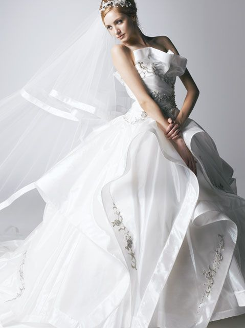 Katsura Yumi - beautiful gown -- オートクチュール フォー レンタル 新作コレクション:桂由美ウェディングドレス直営店