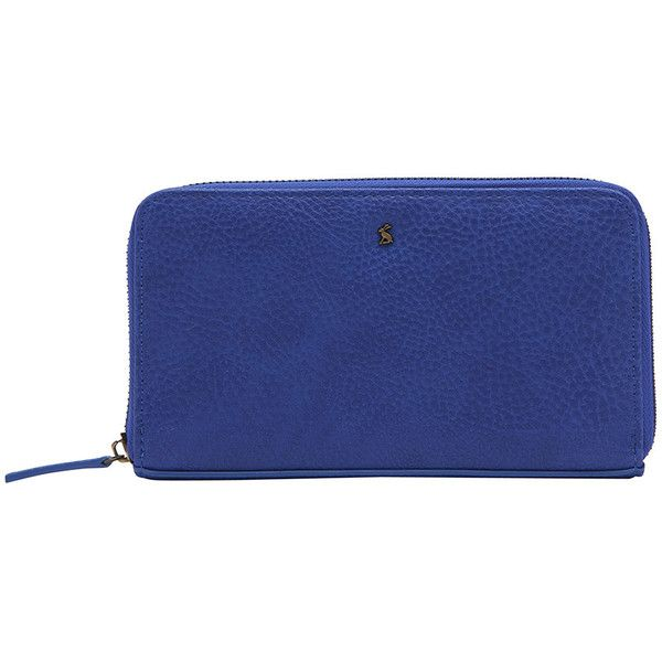 Joules Fairford Bright Purse - Pool Blue ($41) ❤ liked on Polyvore featuring bags, handbags, blue, handbag purse, zipper handbags, joules purse, zipper bag and purse bag