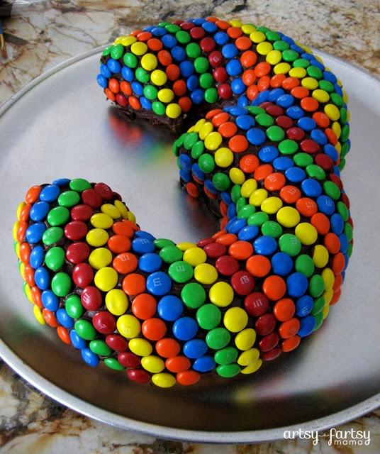 artsy-fartsy mama: 3rd Birthday Cake