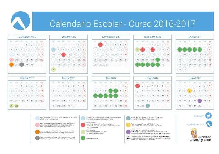 Portal de Educación de la Junta de Castilla y León - Calendario Escolar