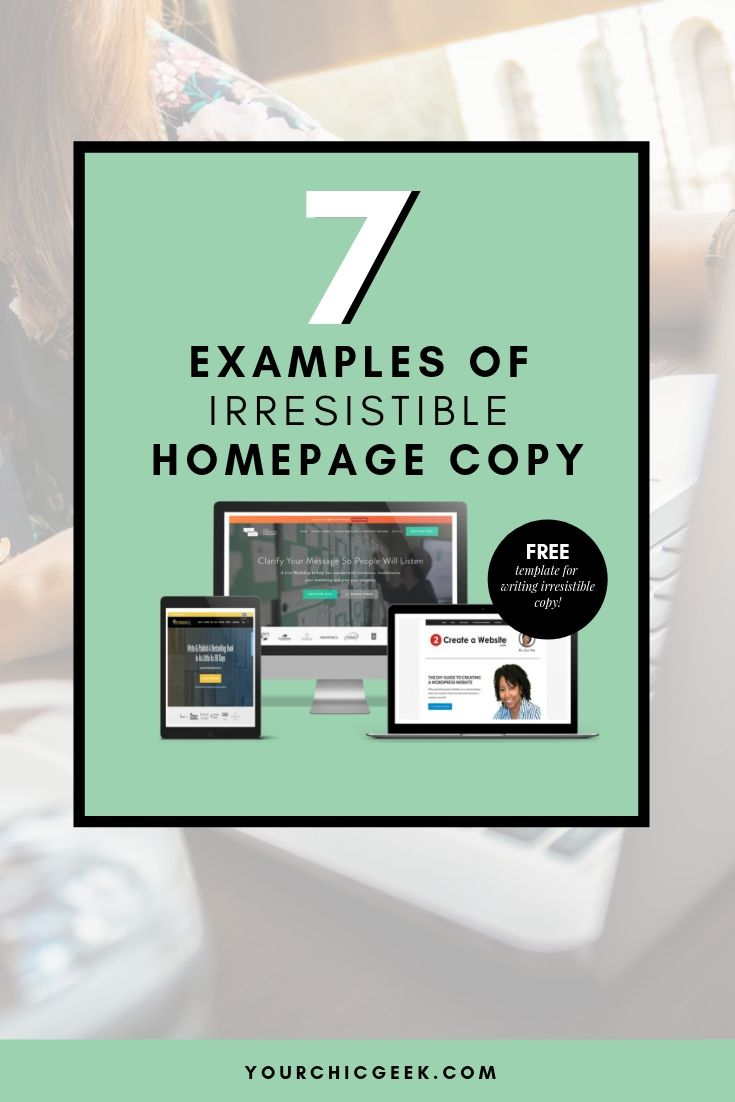 7 Examples of Irresistible Home Page Copy | Blog Posts from