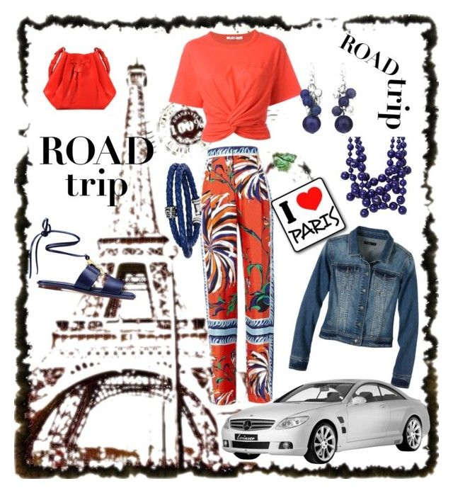 """""""I'm ready to go"""" by fayelee-i ❤ liked on Polyvore featuring Emilio Pucci, Tory Burch, T By Alexander Wang, Maison Margiela, prAna, Chico's, Phillip Gavriel and Kenneth Jay Lane"""