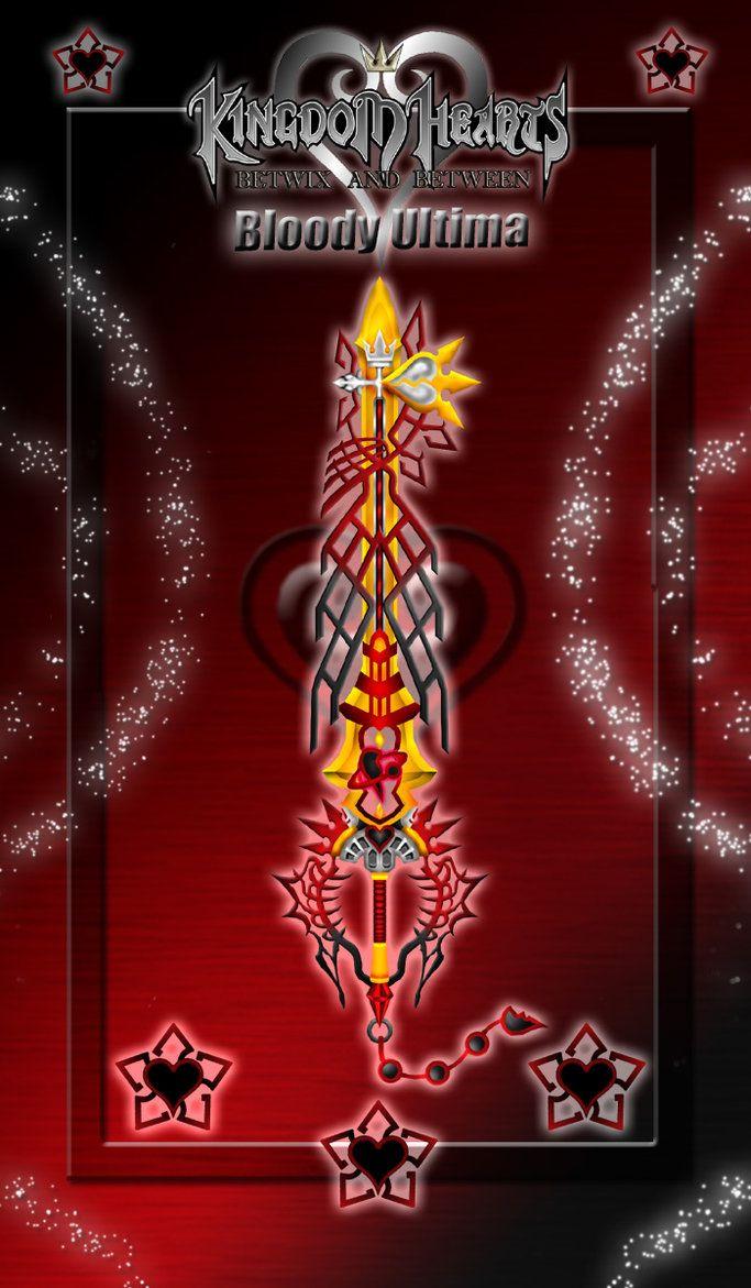 Keyblade - Bloody Ultima - by WeapondesignerDawe on DeviantArt