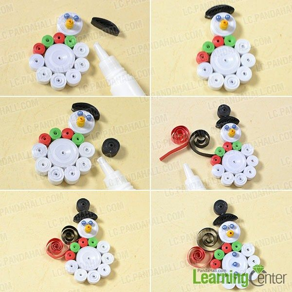 How To Make A Snowman Arts And Crafts