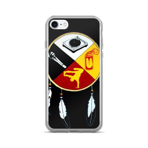 Hip Hop Medicine Wheel Black iPhone