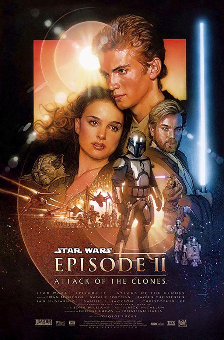 Watch The Star Wars Films In Order To Prepare For Star Wars The Rise Of Skywalker Star Wars Episode Ii Star Wars Film Star Wars Episode 2