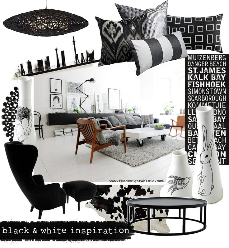 Grey and Black Tone Cushions