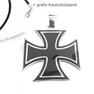 Eisernes Kreuz Anhänger aus Edelstahl  #Bikerschmuck #EisernesKreuz #Männerschmuck #Edelstahlschmuck