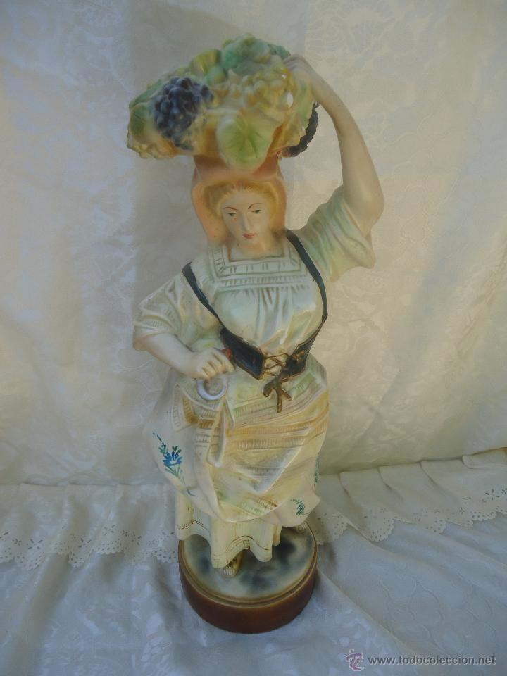 Figura mujer vendimiadora decoracion pinterest - Decoracion segunda mano ...