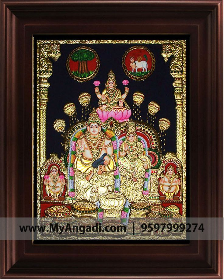 Lakshmi Tanjore painting  Call us or Whatsapp @ 9597999274 #TanjorePainting #Painting #MyAngadi