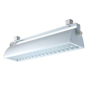 Wall Washer with Louver    Aluminum Construction   Includes Electronic, Rapid Start, High-Power Factor Ballast   Vertical Adjustment: 70°, Rotation: 330°    Input Voltage: 120V, Output Voltage: 12V  Bulb: (2) PLL Twin Tube 2G11    Max Wattage: (2) 40W    Finish: WW-White Fixture/White Louver, BB-Black Fixture/Black Louver  Regular price: $302.50  Sale price: $217.99