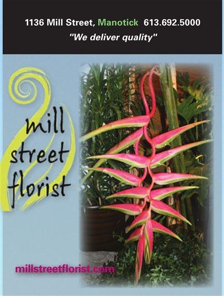 Ottawa Style Spring Issue Mill Street Florist