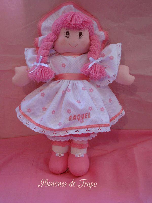 muñeca de trapo ternura