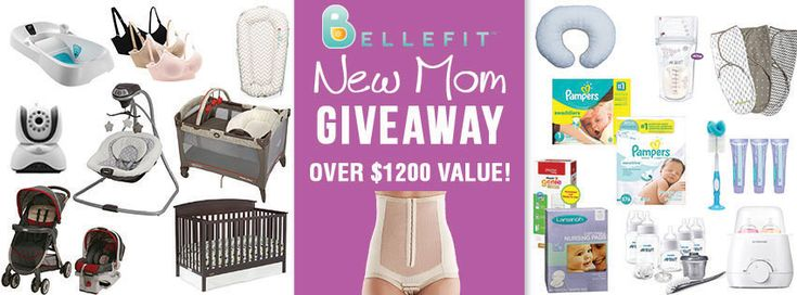 $1200 New Mom Holiday Giveaway! Everything Mom Needs for Baby #bellefitgiveaway