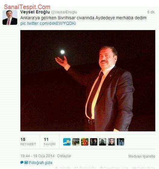 http://www.sanaltespit.com/Tespit/404/Aydedeye_Merhaba_Diyen_Orman_ve_Su_isleri_Bakani.html Orman ve Su İşleri Bakanı Veysel Eroğlu Ankara'ya giderken Aydedeye merhaba demiş.