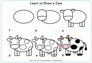 Learn to draw animals while practicing listening skills and following directions