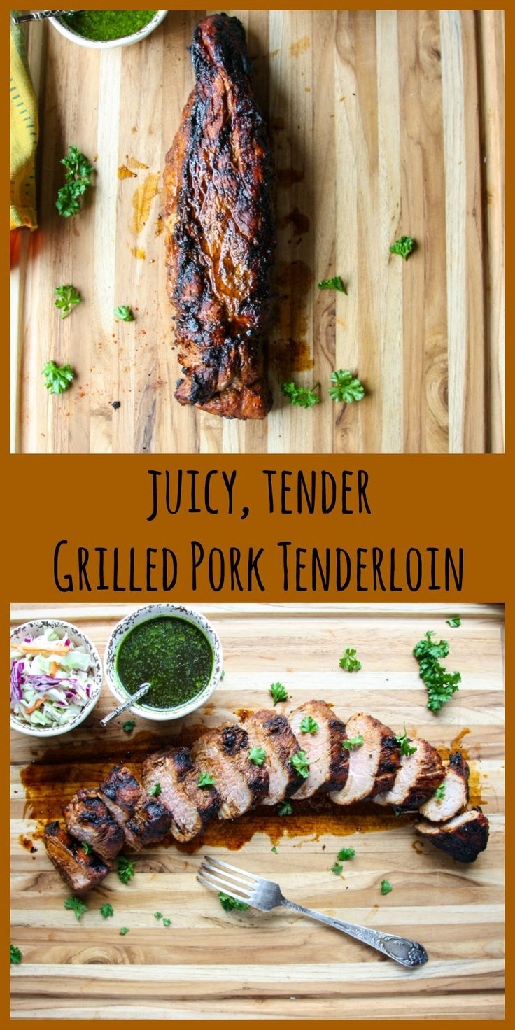 Grilled Pork Tenderloin is tender, juicy, delicious, and economical. And it cooks to perfection on the grill in 20 minut…