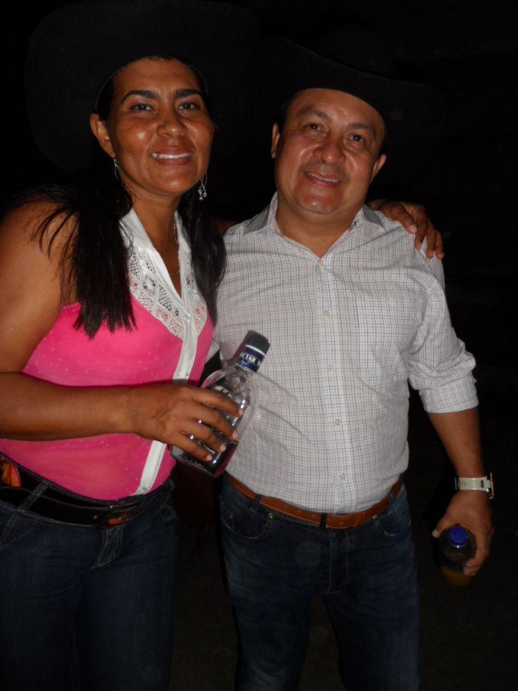 Walter Silva y una fan
