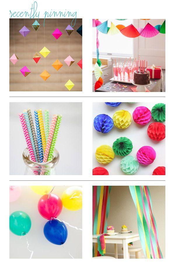 Alegres colores para fiesta arcoiris