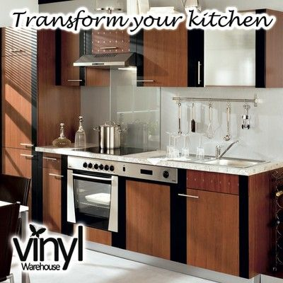 Sticky Vinyl Fablon Can Be Used To Cover Door Cabinets This Picture Shows Mid