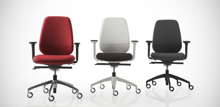 כיסאות משרדיים מעוצבים Pratica מאת Luxy