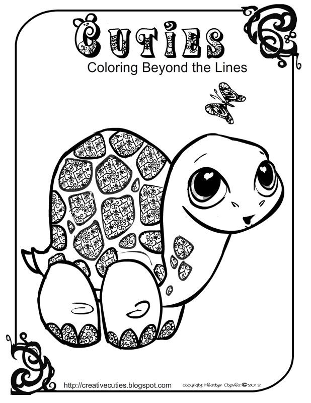 Cute Animal Colouring In : 38 best coloringpages images on pinterest