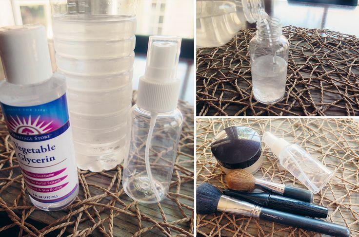 Makeup Finishing Spray   Monica Potter