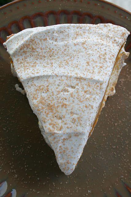Double Layer Pumpkin Pie...so creamy!