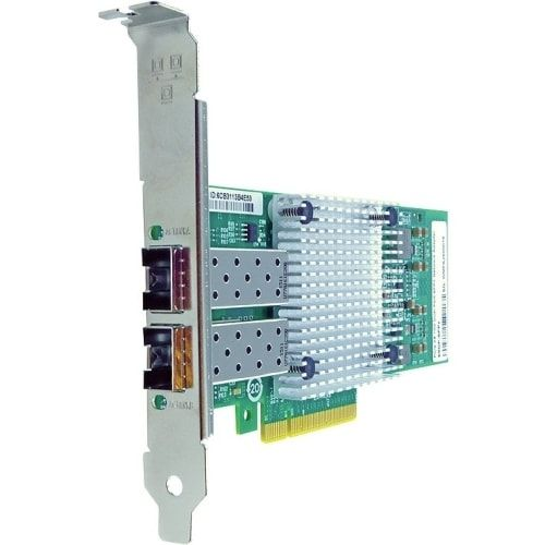 Axion 42C1800-AX Axiom PCIe x8 10Gbs Dual Port Fiber Network Adapter for IBM - PCI Express 2.0 x8 - 2 Port(s), Brown copper