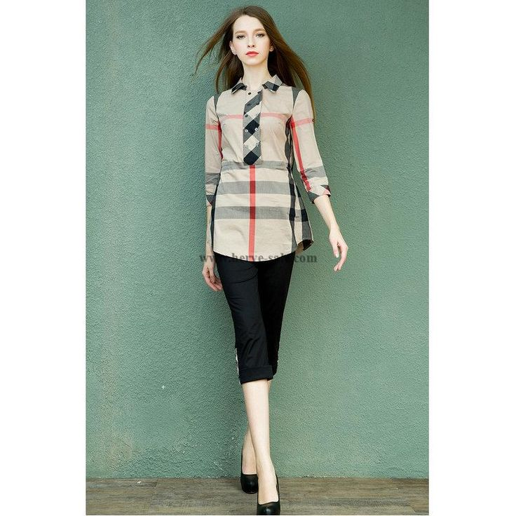 Burberry Women S-XL Shirt 2015-2016 BWS2015515(2 colors)