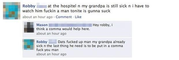 The Dumbest Facebook Status Updates Of All Time – 35 Pics