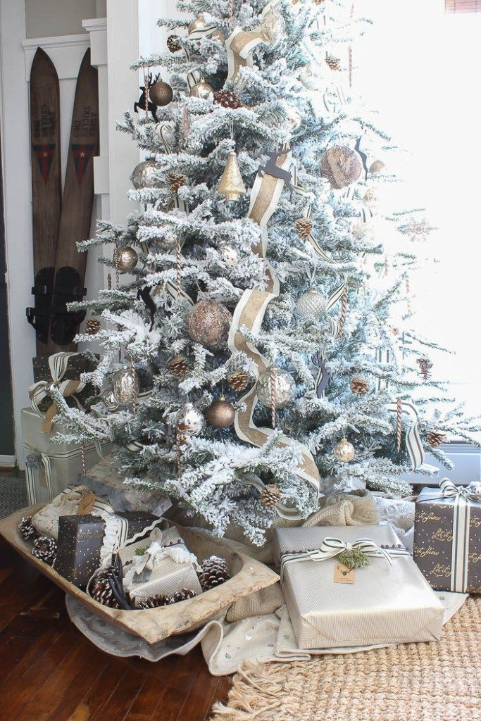 flocked christmas tree rooms for rent blog - Rent A Christmas Tree