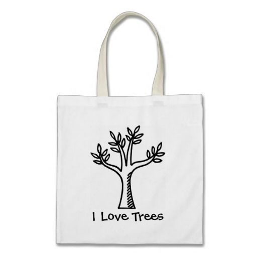 I Just sold one of my 'I love trees 2' tote bags on Zazzle!