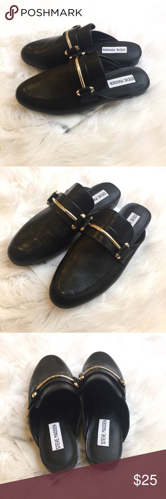 Steve Madden Kandi Mules Classic, slip on style mules by Steve Madden!  Feminine, chic, and great for any occasion. Unfortunately these are a bit too small on me. They are a size 6.5, but definitely fit more like a 6. Steve Madden Shoes