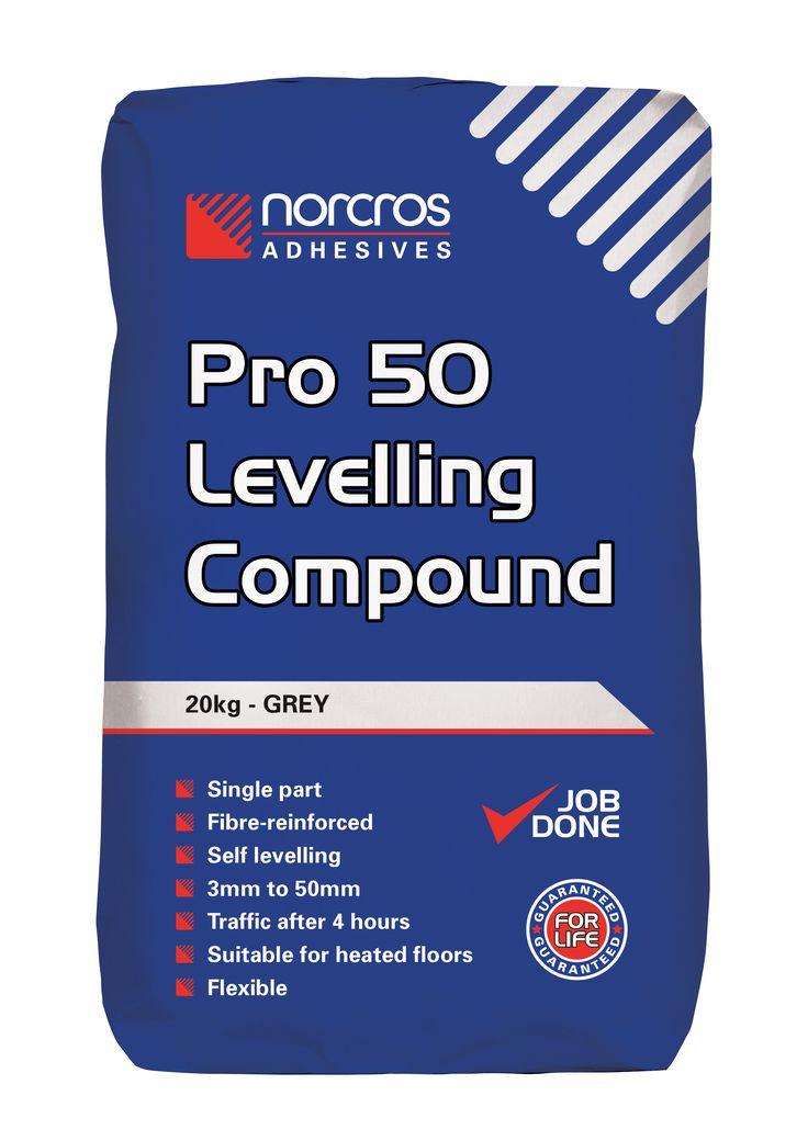 Norcros Pro 50 Levelling Compound Heated floors