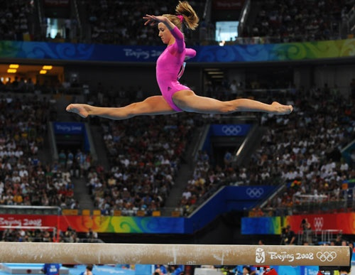 Nastia!  Her toe point is AMAZING!