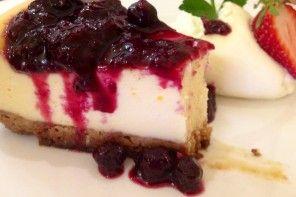 Receta para un rico cheesecake vegano que no necesita cocción!