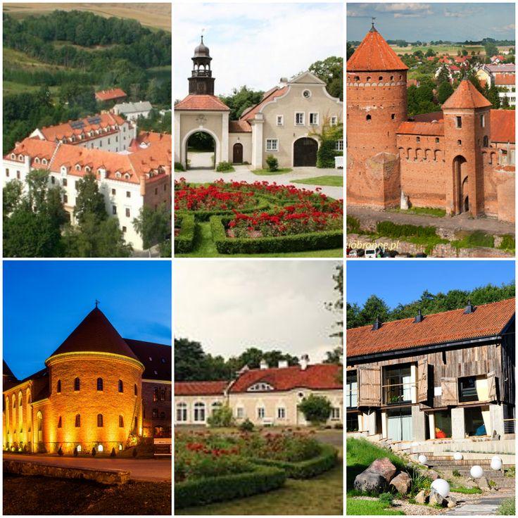 Warmia i Mazury: pałace i zamki    castles and palaces